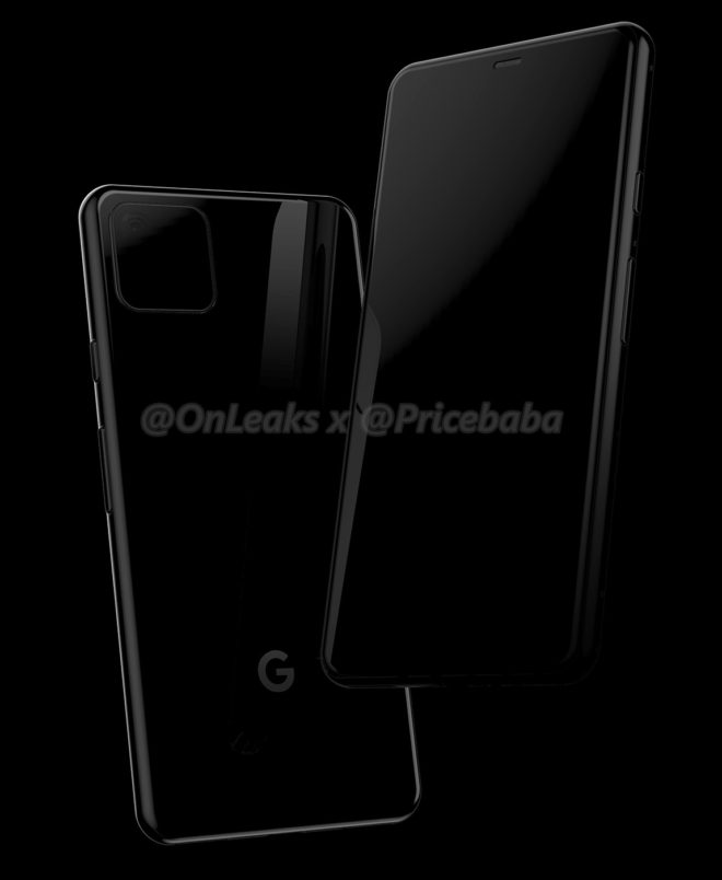 Google Pixel 4 renders show a camera arrangement that nobody asked for