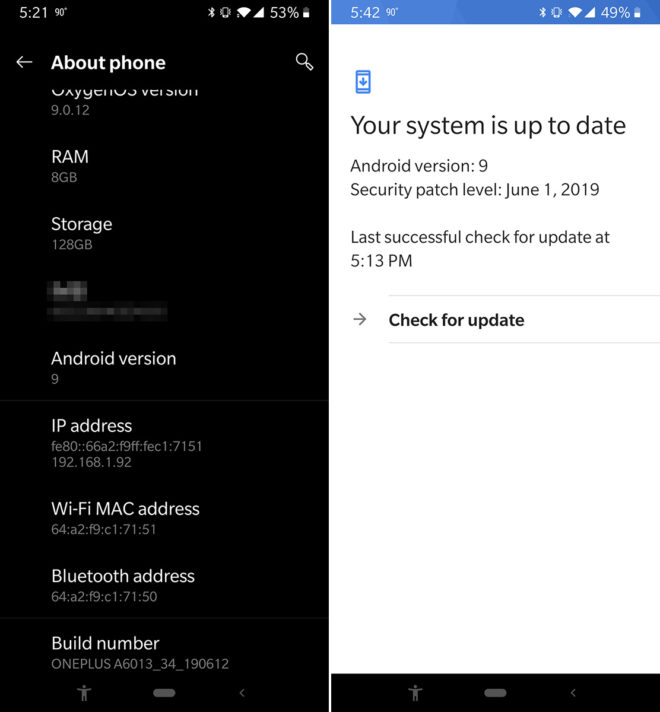 tmobile-oneplus-6t-july-update