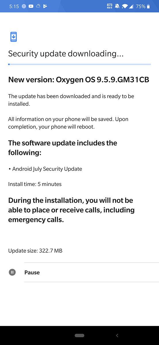 T-Mobile OnePlus 7 Pro now getting security update - TmoNews