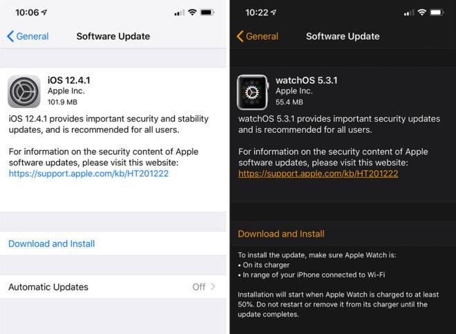ios-12-4-1-watchos-5-3-1-updates
