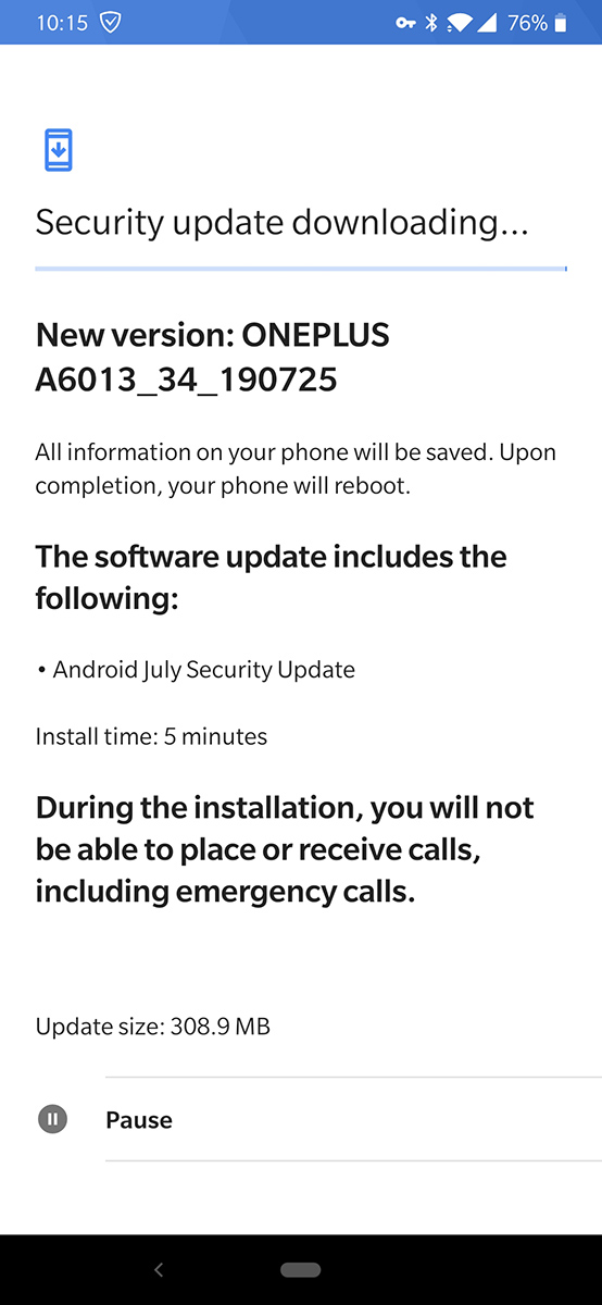 T-Mobile OnePlus 6T now receiving July security update - TmoNews