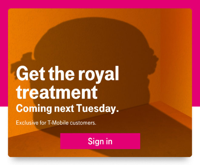 tmobile-tuesdays-royal-treatment-teaser