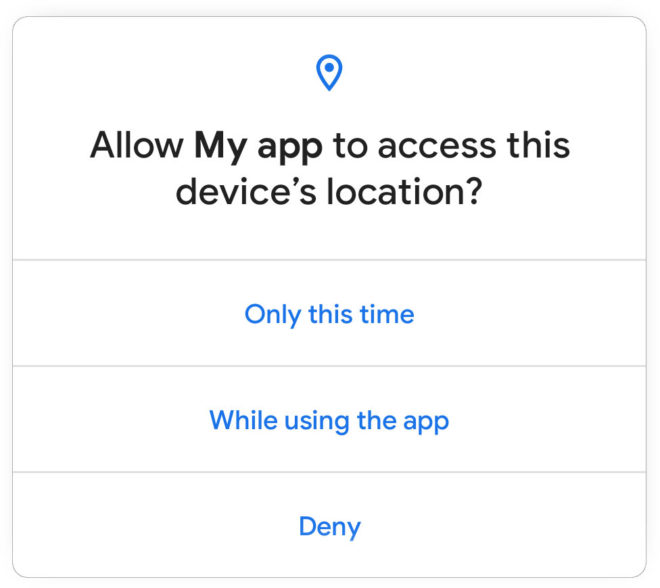 android-11-one-time-location-permission