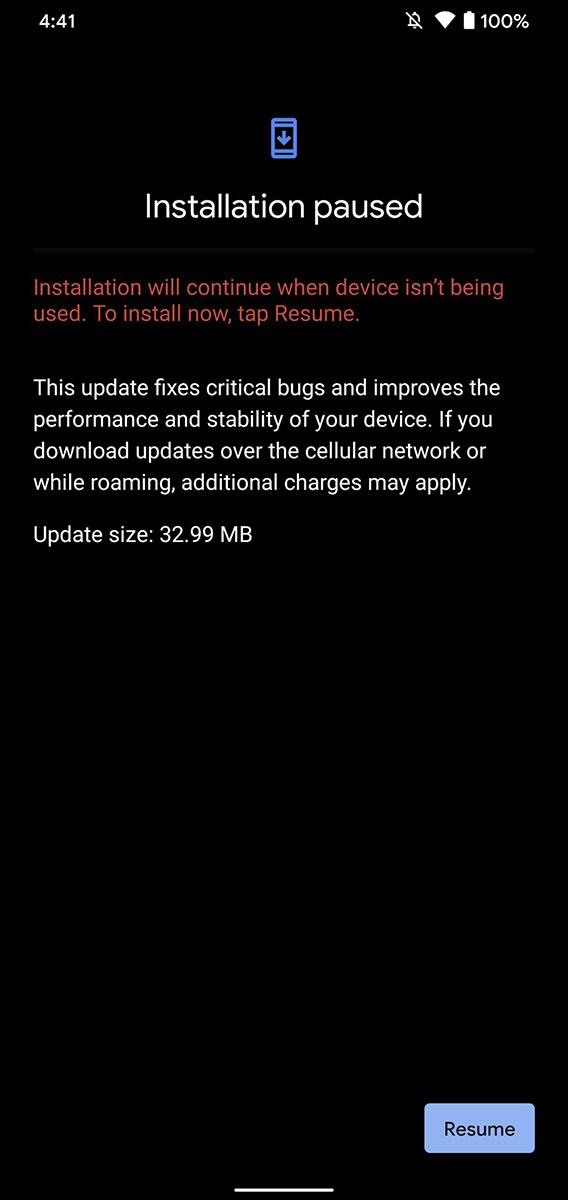 pixel-4-april-2020-update