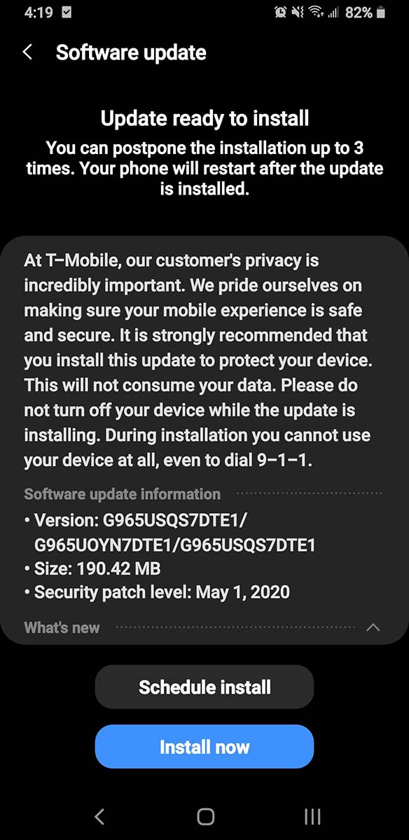 t-mobile-galaxy-s9-update-may-2020