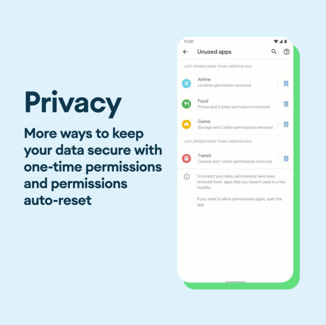 android-11-privacy-features