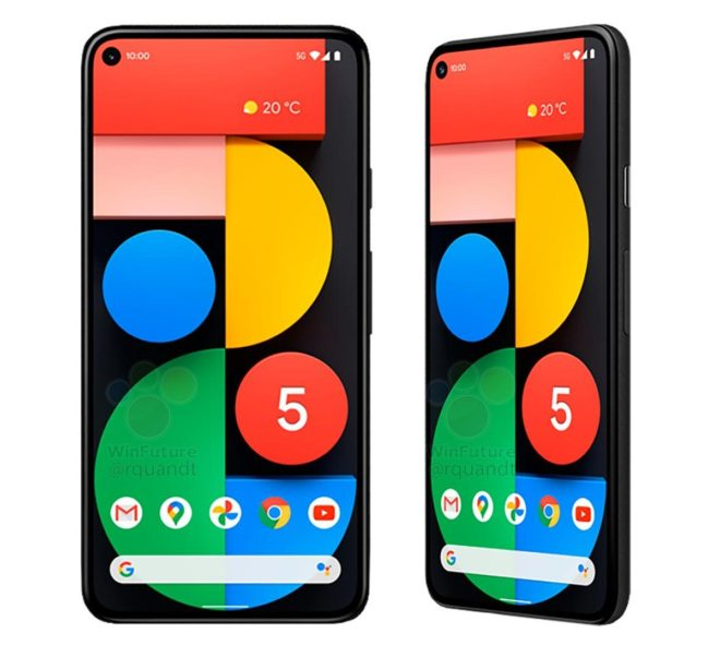 Google Pixel 4a 5G official renders and specifications leaked