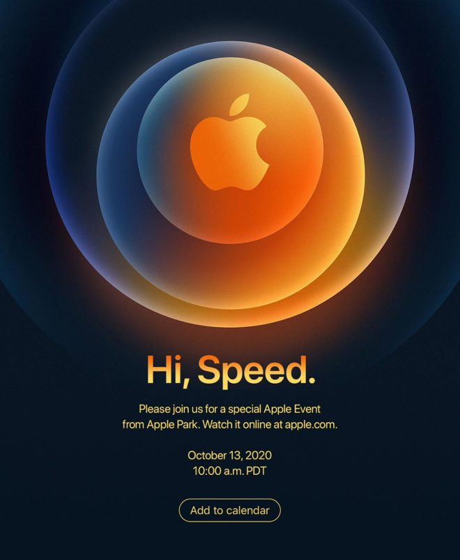 Apple Announces October 13 Event, New iPhones Expected to be Revealed