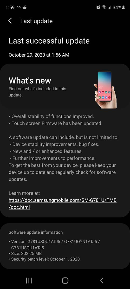 tmobile-galaxy-s20-fe-5g-update-october