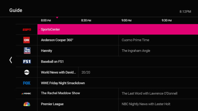 tvision-live-tv-guide